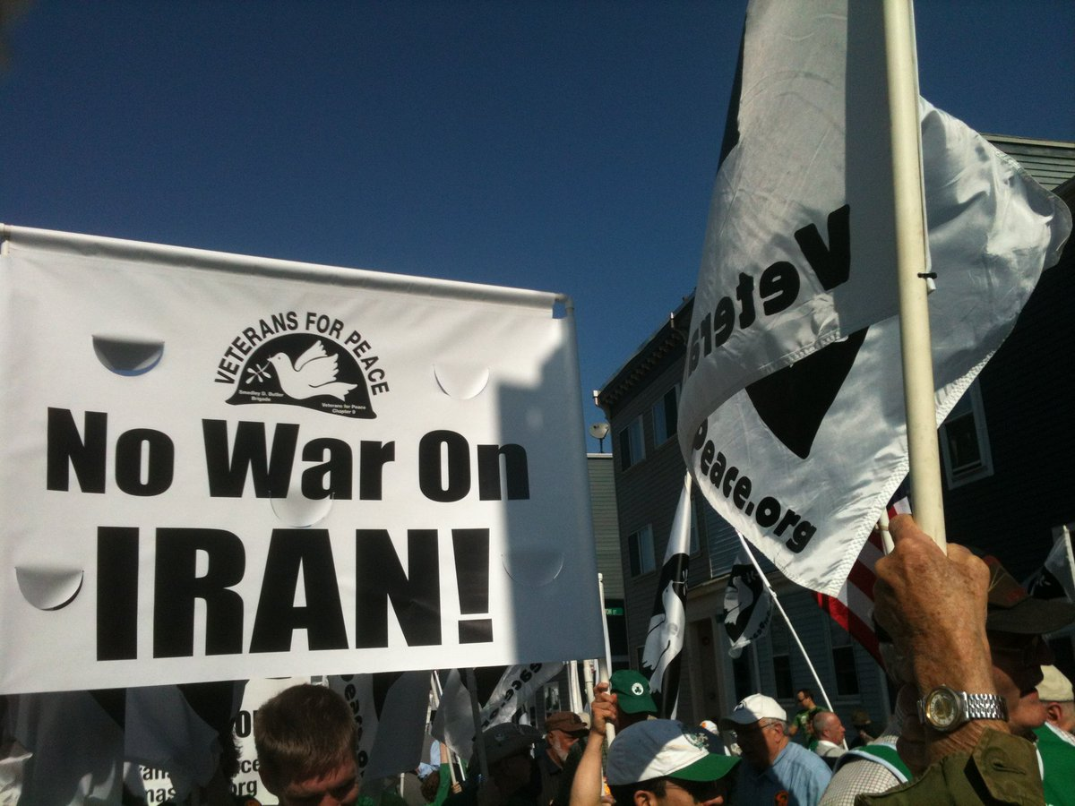 Join us & our coalition partners at #EndTheWarsCoalition Saturday, May 25, for a large anti-war rally at 12 noon calling for #NoWarWithIran!   Where: Corner of Lincoln Memorial Dr. & Lafayette Hill Dr. on #Milwaukee's lakefront (lots of parking at marina).  PLEASE JOIN US!