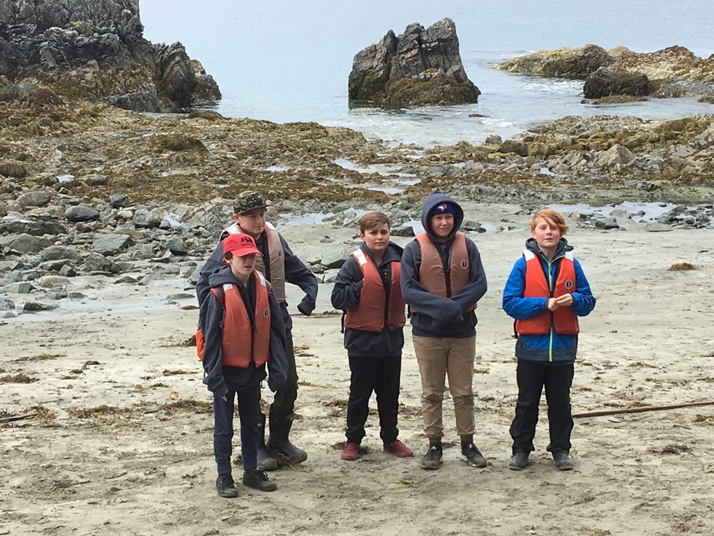 Pictures from our time exploring tide pools on Brady's Beach. #Bamfield2019