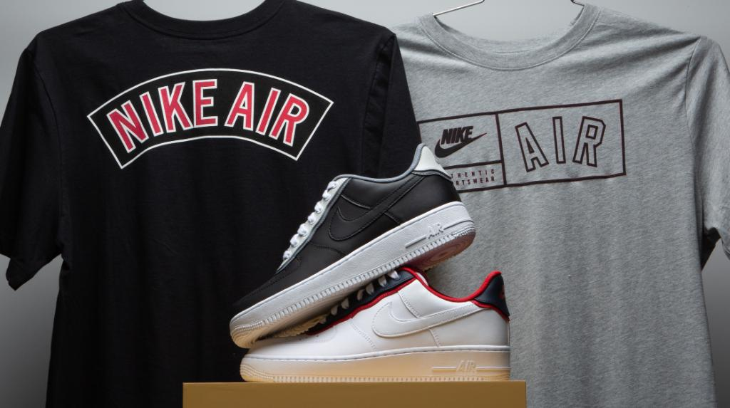 online store 11891 6a356 keep it classic with the swoosh nike air force 1 lv8 nike tees are now  available
