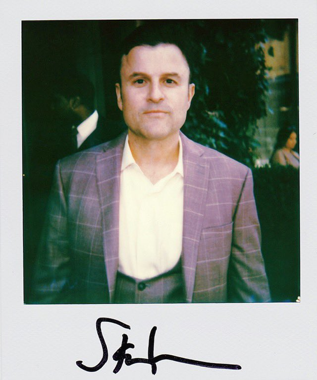 """Steve Lemme after the Warner Media Upfront where he was promoting """"Tacoma FD"""" in New York, NY. May 2019. #stevelemme @SteveLemme #tacomafd #warnermediaupfront #brokenlizard #supertroopers #supertroopers2 #beerfest #clubdread"""