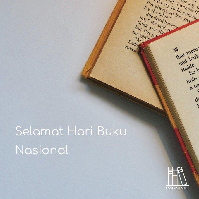 Selamat Hari Buku Nasional Photo
