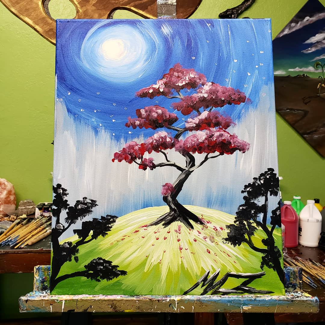 Memos Canvas On Twitter Bonsai Tree Bonsai Tree Treepainting Landscape Landscapedesign Sky Host Your Own Sipandpaint Paintparty Paintnight Learntopaint Montclair Ontario Ranchocucamonga Upland Art Artist Memoscanvas Canvas Laart