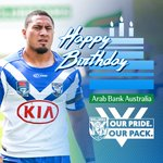 Image for the Tweet beginning: 🎂 Happy Birthday Francis Tualau.  #proudtobeabulldog