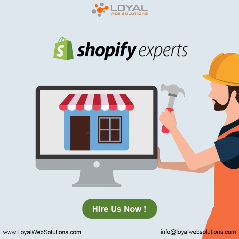 Want to gain potential customers to your shopify  store ?If yes, then make your online store that much creative so that the customers can't resist.Contact us today to make your shopify store innovative!https://www.loyalwebsolutions.com/services/shopify-development.php…#ecommerce  #shopify  #onlineshoppingstore