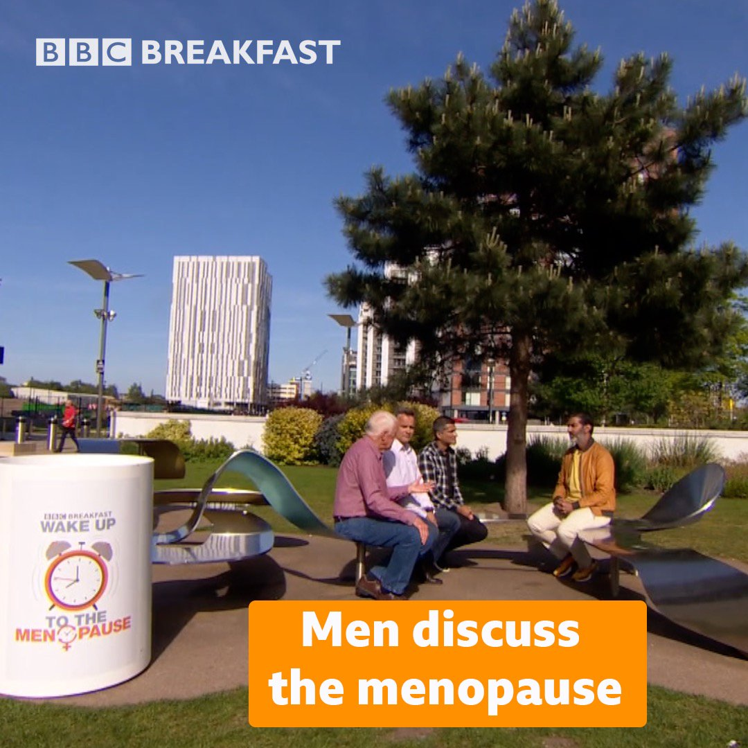 It's important men know how to support women through the #menopause 🙋♂️These men share their experiences ⬇️ #BBCMenopause