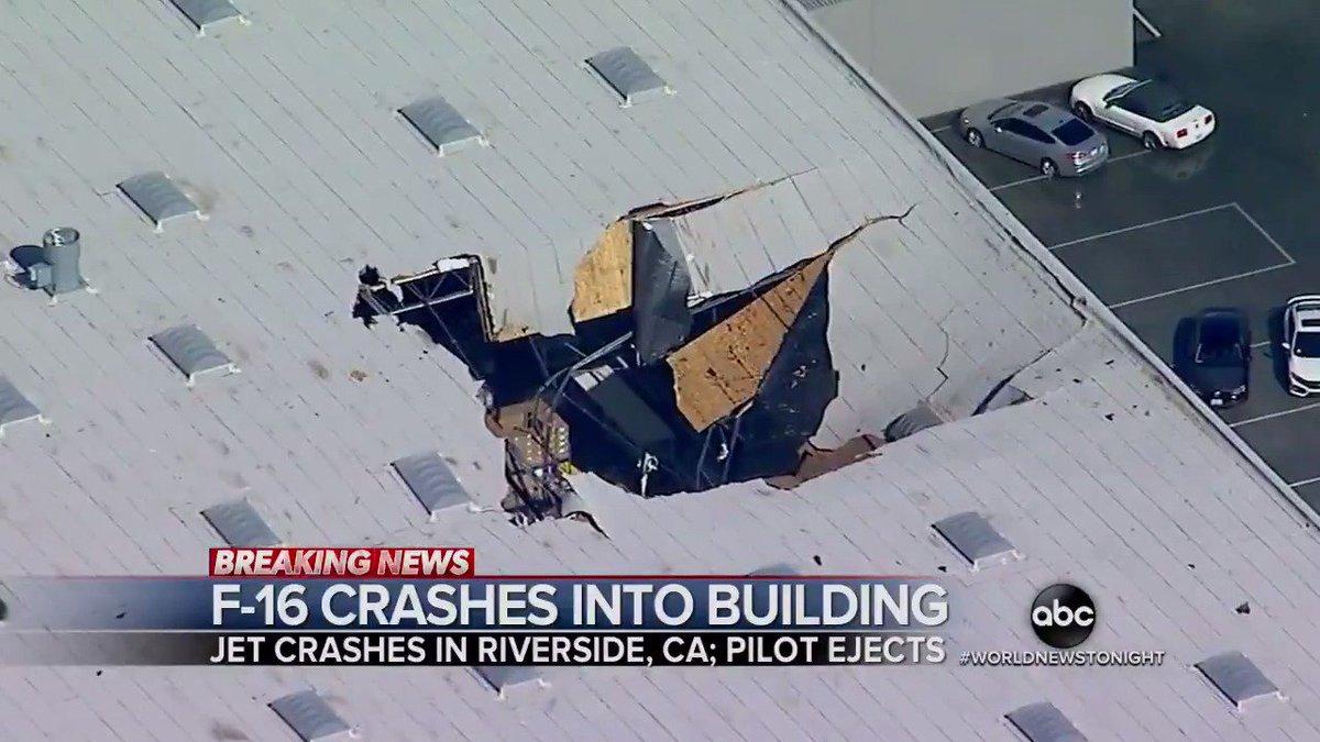 World News Tonight's photo on F-16
