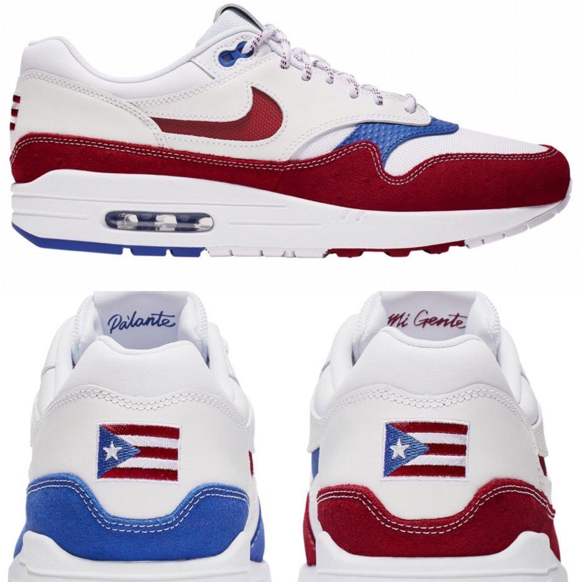 """orden Médico Simposio  Uživatel Maratonespr.com na Twitteru: """"Compañía Nike lanza unos tenis con  la bandera de Puerto Rico. Los mismos también llevan un mensaje impreso que  lee """"Pa'lante mi gente"""". El modelo de tenis son"""