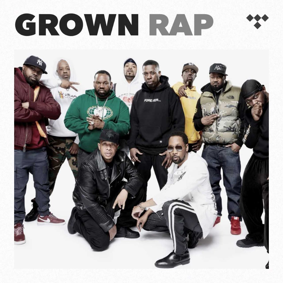 Catch the on the Grown Rap Playlist from @Tidal! The Wu-Tang slang is mad dangerous ... tidal.com/browse/playlis…