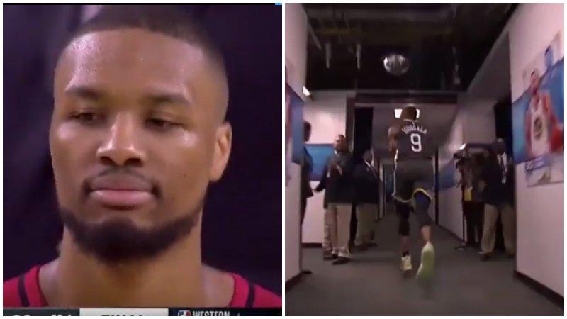 【影片】Lillard被打到沒脾氣!Iguodala鬼手切球再度上線,這抄截是什麼水平?