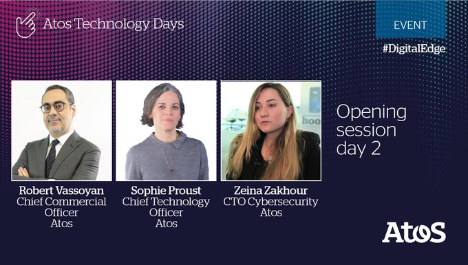 Don't miss the Atos Technology Days second live opening session by @RVassoyan, @So_Proust and...