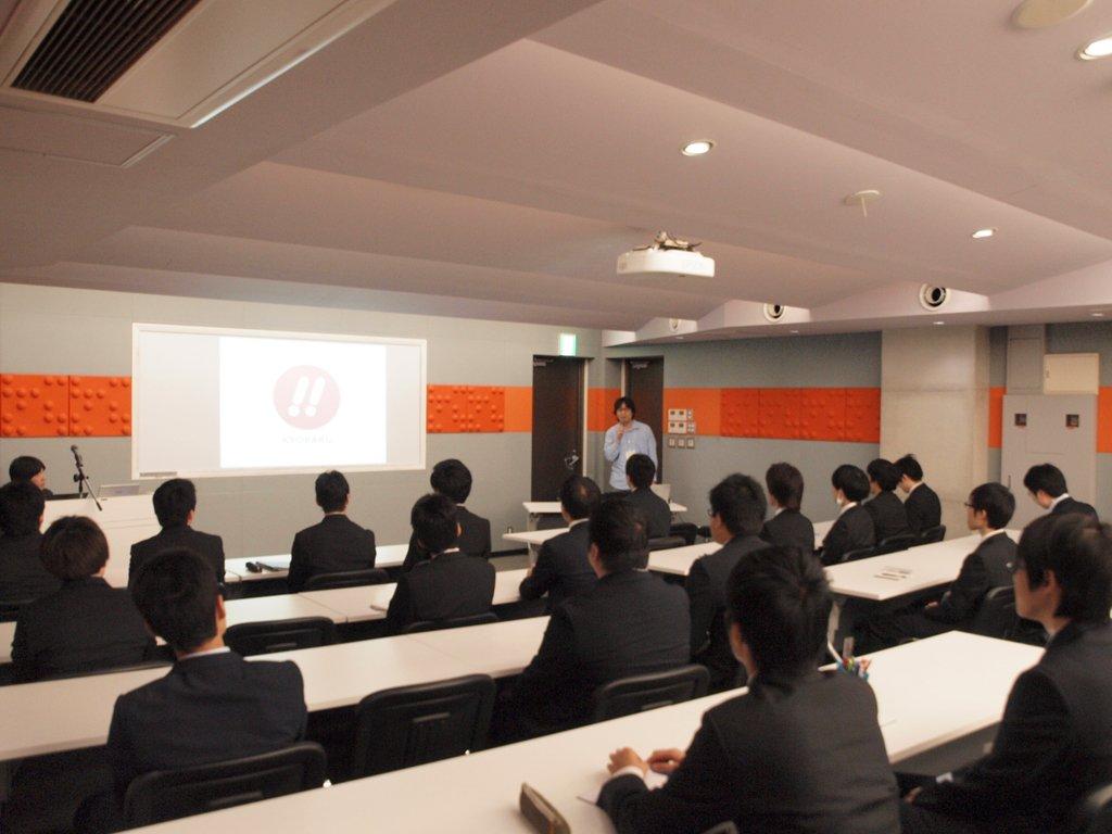 パチンコ業界への就職・転職を目指す人のための学校、G&Eビジネススクール。本日、渋谷校ではG&E受講生を対象とした京楽産業.さまの会社説明会が開催されています。