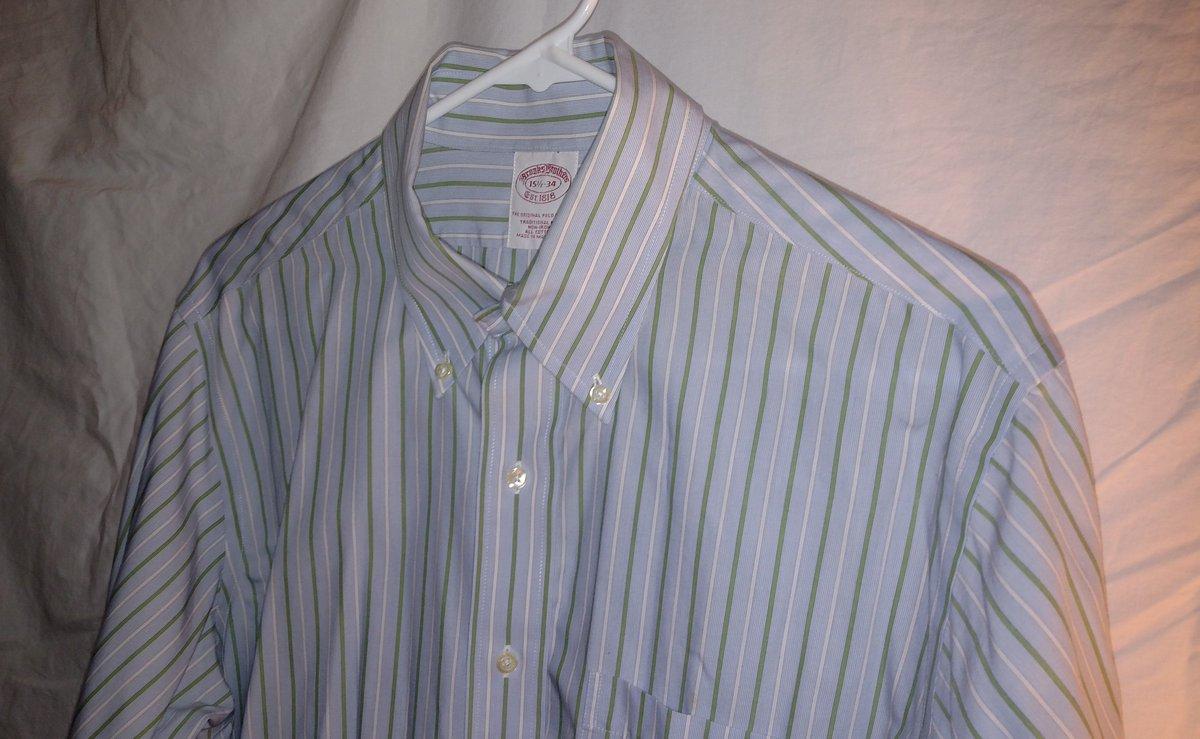 2d6215d910e  BrooksBrothers  mens  noniron  buttondown  longsleeve  shirt  fashion   clothing  ebay RTpic.twitter.com FMJOuWVoFJ