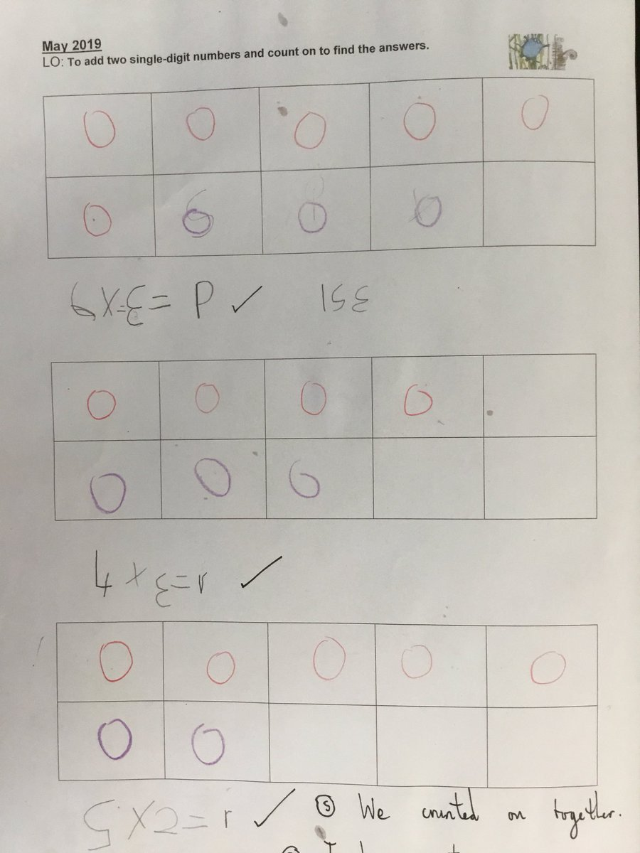 test Twitter Media - We have been counting on to add two numbers together today, e.g. 6+3...... 6-7,8,9 = 9. Have a go at home. #gorseymaths https://t.co/aIMtoABtVx