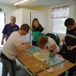 Image for the Tweet beginning: Amazing team work with @GreenacreSchool