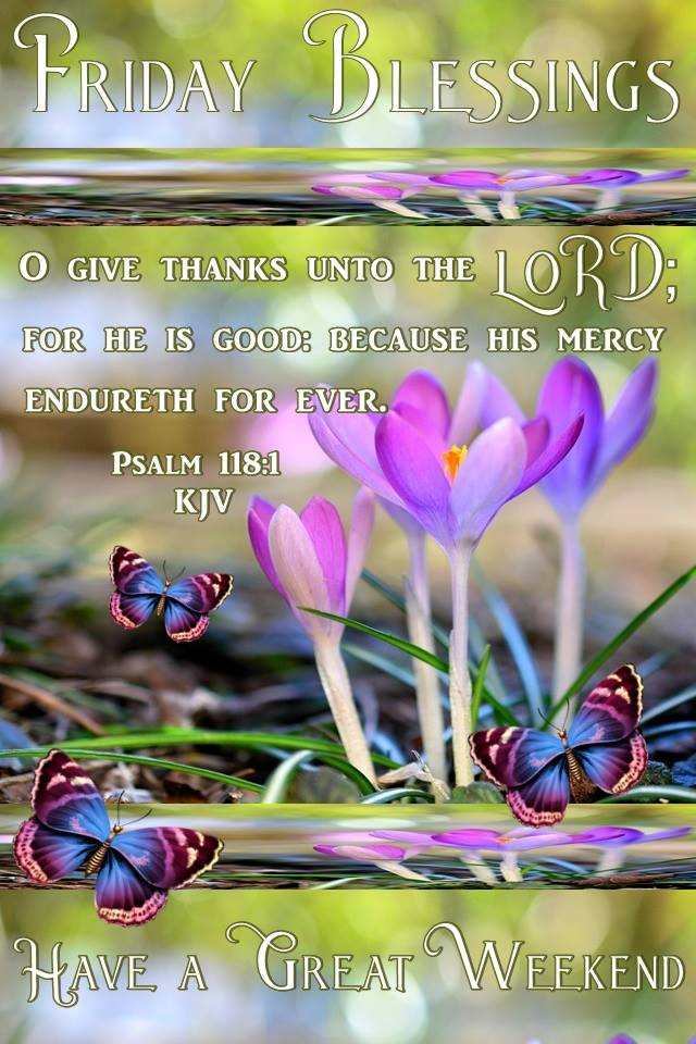 Good Morning Happy Friday Blessings