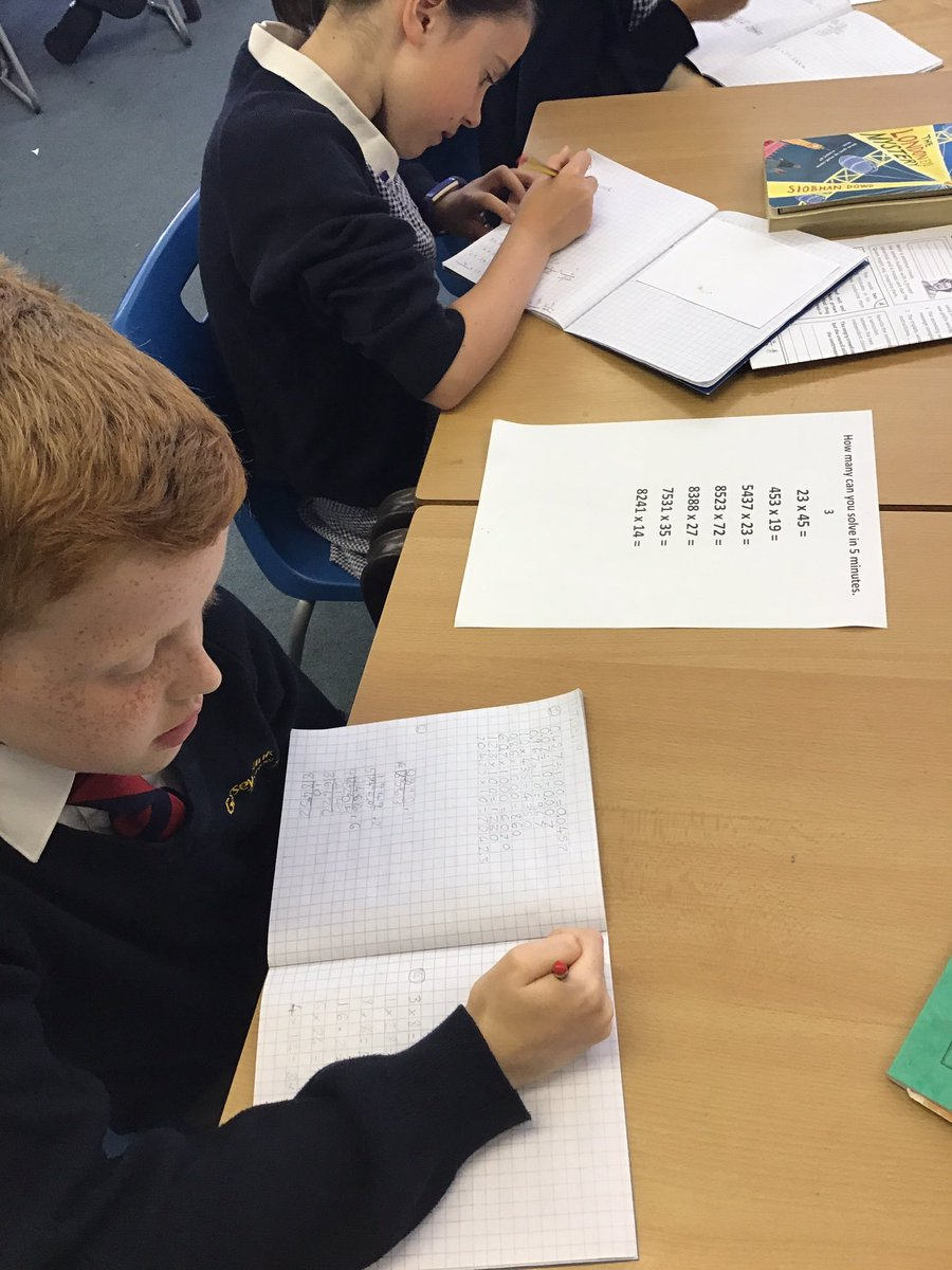 test Twitter Media - Today we moved around the tables to secure our Y5 skills. How many could we do in 5 mins? #gorseymaths https://t.co/DAI0Ked6O0