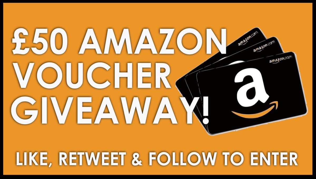 Happy #FreebieFriday! #COMPETITION Win £50 Amazon voucher To enter, Just follow @mvouchercodes1 RT &amp; use #mvouchercodes Best of luck to all #LikeToWin #Giveaway #TagAFriend #CompetitionTime #Win #giftideas #FridayFeeling #Friyay #gift #FridayMotivation #FridayThoughts <br>http://pic.twitter.com/5AtKvCfSec