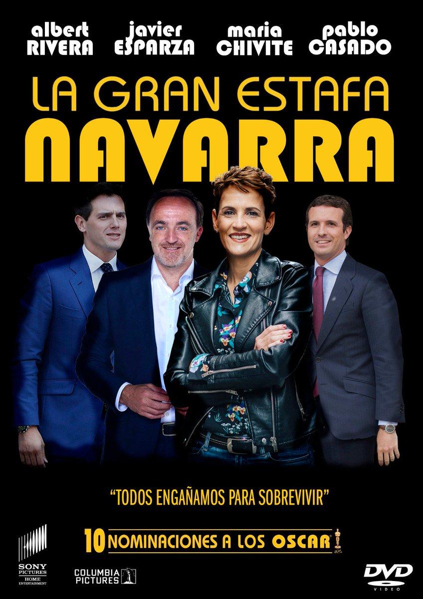 Después del #Agostazo y el #Marzazo ya está disponible la #GranEstafaNavarra, recuerda que tú puedes evitarlo. El voto a .@EHbilduNafarroa es garantía de #cambio  #Geldiezina #Imparables
