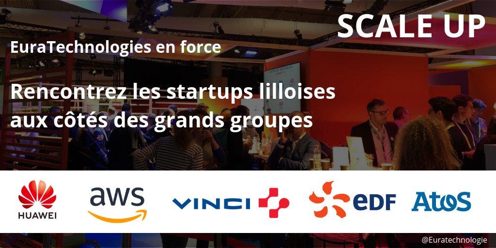 #VivaTech Jour 2 #ScaleUp  🚀Elles ont séduit les grands groupes   ➡️ Aujourd'hui, découvrez les #startups lilloises conviées sur les pavillons de grandes entreprises  #EuraTechnologies #startup #accelerator #TransfoNum