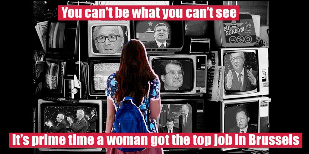 It's prime time we see MORE WOMEN in the EU top jobs ! #youcantbewhatyoucantsee #TellEurope #Elections2019 @EuropeanWomen @bxlbinder @EWA_Brussels<br>http://pic.twitter.com/EnNdrRPYUJ