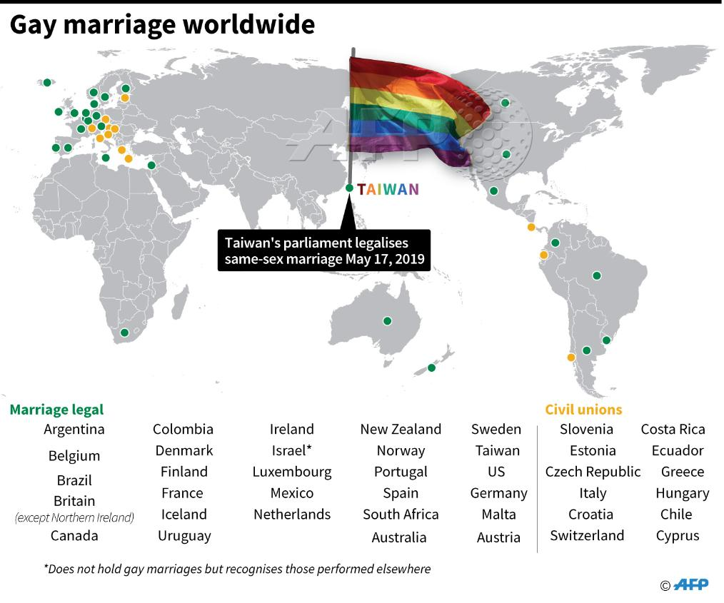 Marriage equality and tolerance towards lgbt