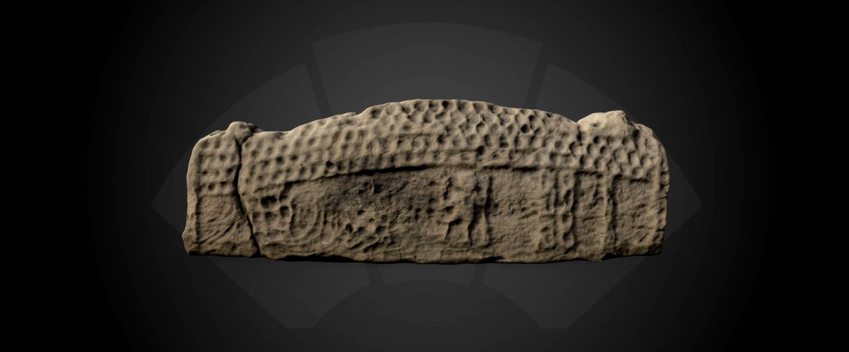 Happy #SketchfabFriday people! @HistEnvScots @Sketchfab is closing out the week with a sweet sweet 10thC #Hogback stone from Incholm Abbey! You cant go wrong with a Friday morning dose of #Viking-style #Medieval gravemarkers, am I right? Have a #3D look👉skfb.ly/6KzO9