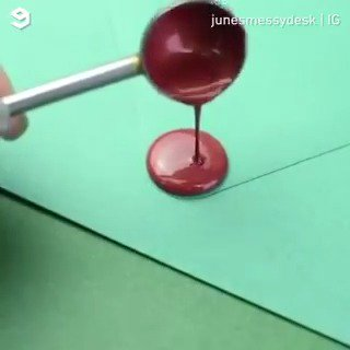 Wax sealing is so soothing to watch  By junesmessydesk | IG