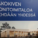 Image for the Tweet beginning: Rakokiven #monitoimitalo'n #viestintä'ryhmä kokoontui suunnittelemaan