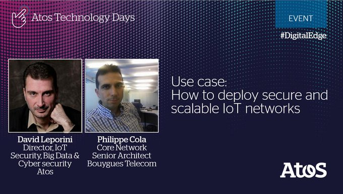 How to deploy secure and scalable #IoT networks? A question that will be answered...