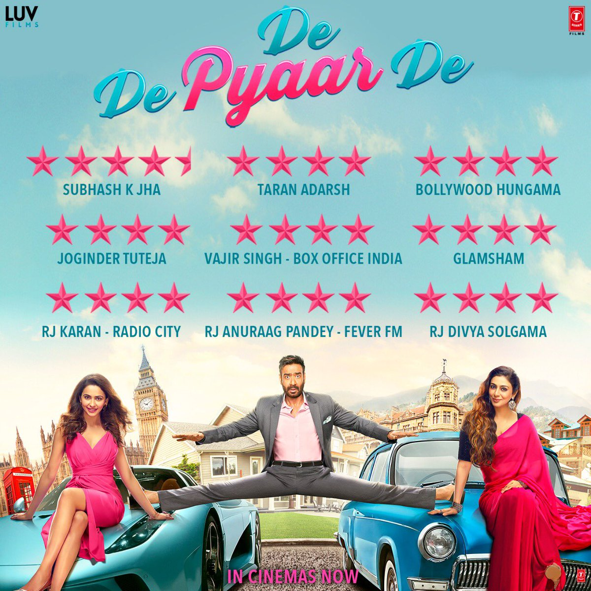 When the day starts like this 😀😀😀🙏🙏🙏 keep the pyaar pouring in ❤️ @DeDePyaarDe