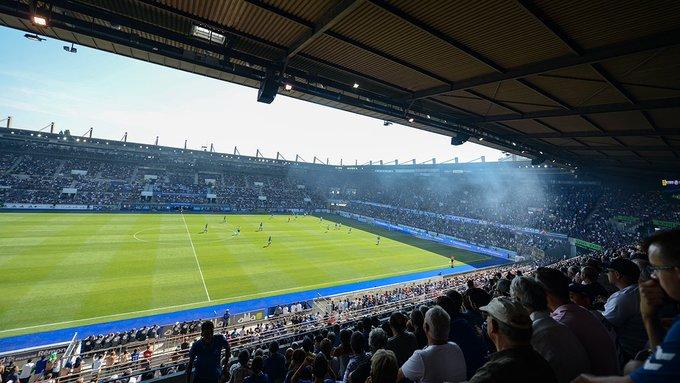 Le stade de la Meinau agrandi