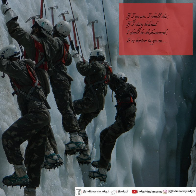 ADG PI - INDIAN ARMY's photo on #fridaythoughts