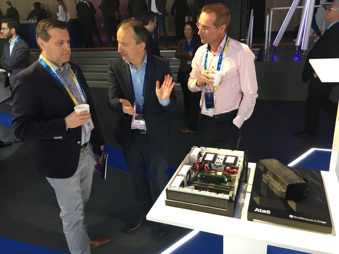 High interest for the new launched 'BullSequana Edge' #edgecomputing server ...