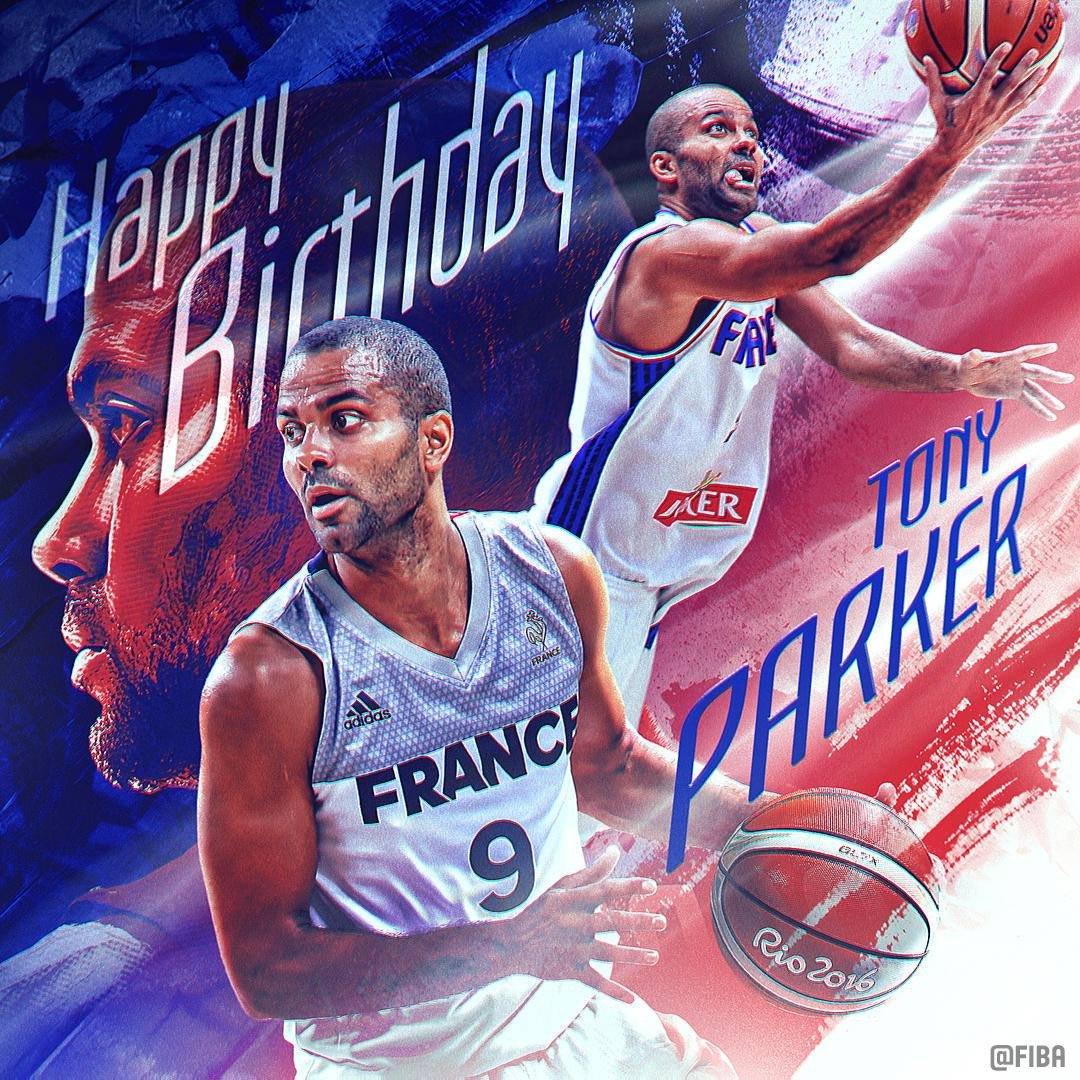 Happy Birthday 🎂 to FIBA @EuroBasket 2013 MVP @TonyParker 🇫🇷!  @FRABasketball