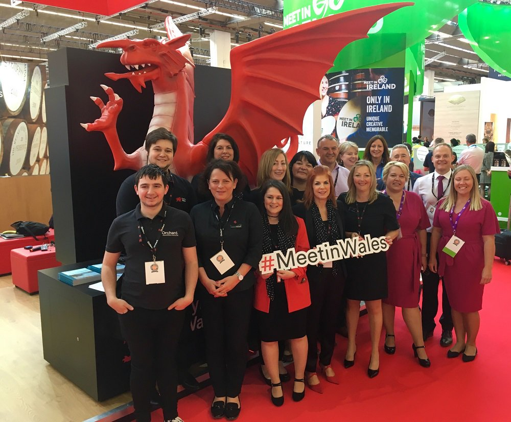 We can't believe #IMEX19 @IMEX_Group has come around so quickly! We will be exhibiting on stand F350 with our partners @ICCWales, @TheCelticManor, @VenueCymruConf and @MeetinCardiff – we're excited to show you Wales is open for business! #MeetInWales