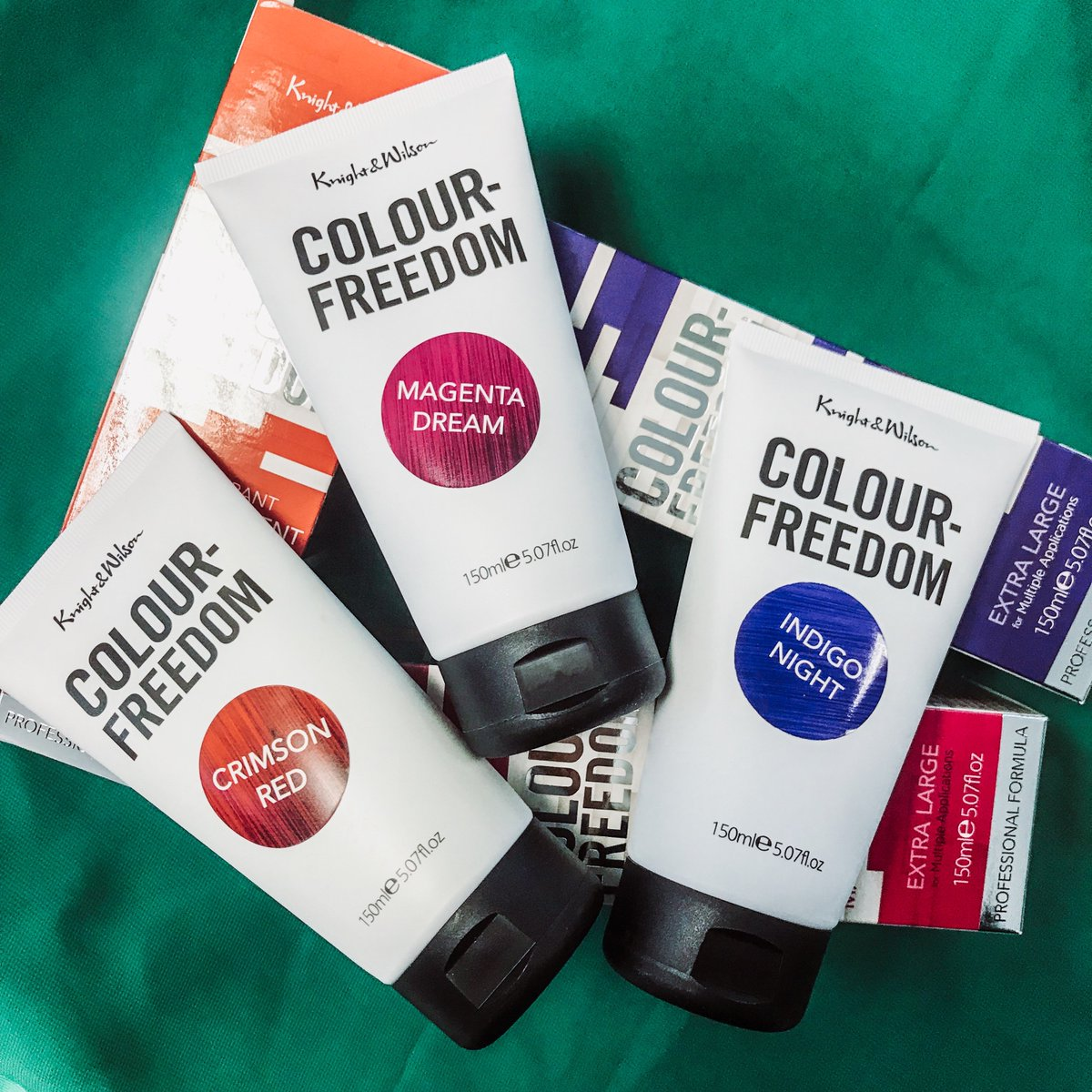 Well the weather outside is frightful, so we're cheering it up this #FreebieFriday with some of our favourite brights! Wanna win a trio of our VIBRANTS, whichever three you fancy?   Simply FOLLOW &amp; RT to enter. Closes 23:59 19.05.19. UK only. 16+. Good luck! <br>http://pic.twitter.com/GXtPiN5mzl