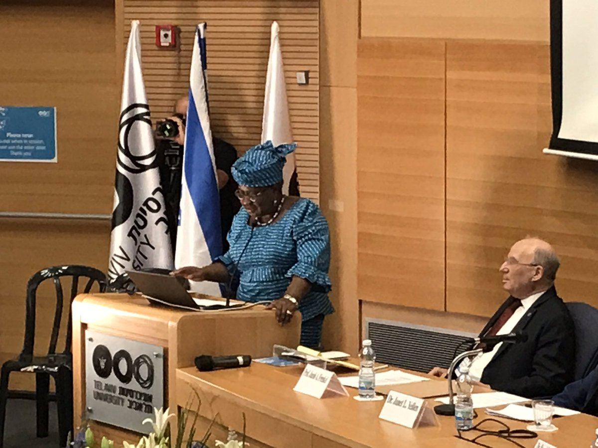 @NOIweala at @TelAvivUni  Geopolitical Economic Symposium presenting on the real world developing problems and emerging markets