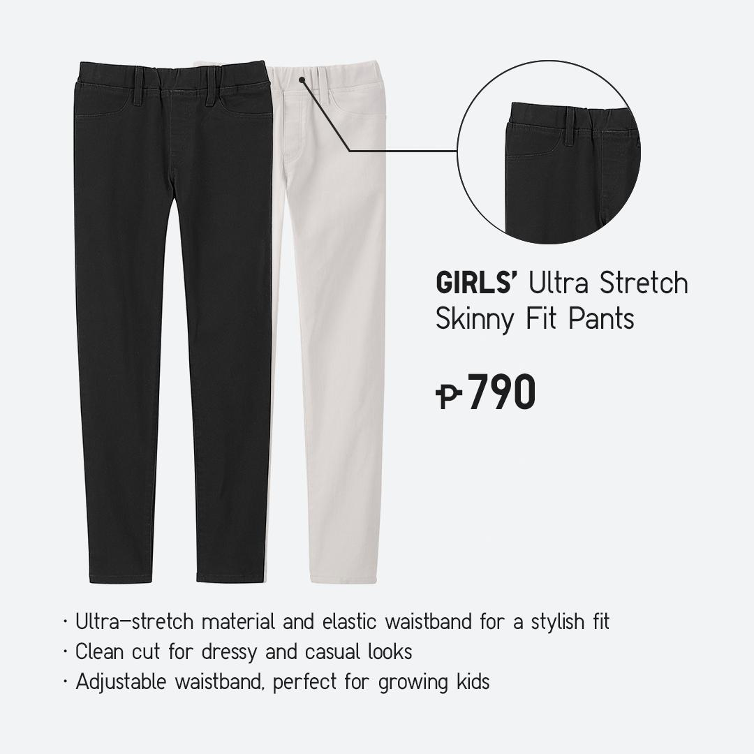 cc41bcb98db Made with an extra stretch fabric so they can move freely and has an  elastic waistband for growing kids. https   s.uniqlo.com 2WQ6yDI pic.twitter.com   ...