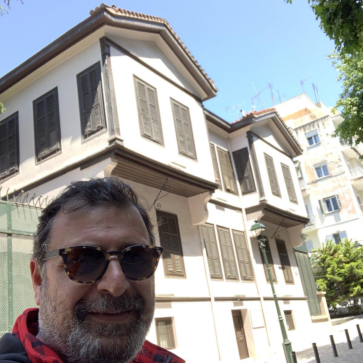 19 Mayıs başka bir anlamlı oldu bu kez, Atamızın Selanik'deki evini bir kez daha ziyaret ettim. Sonsuz şükranlarım eşliğinde... #19Mayıs1919
