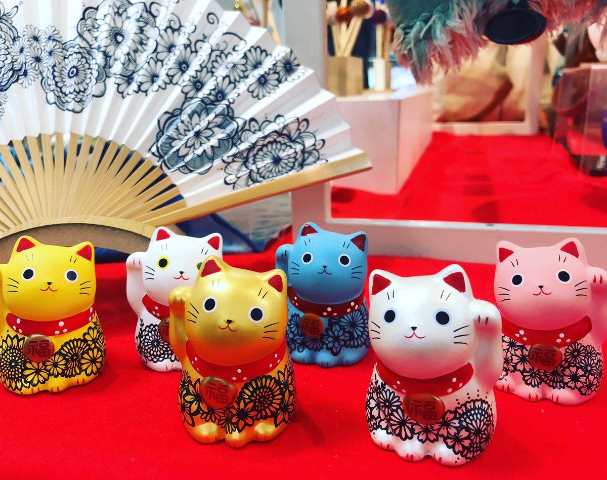 松屋浅草が、スタートしてます‼️ 招き猫が、皆様をお待ちしております❤️今日から『三社祭』です‼️ #松屋 #浅草 #三社祭 #sanjya #asakusa