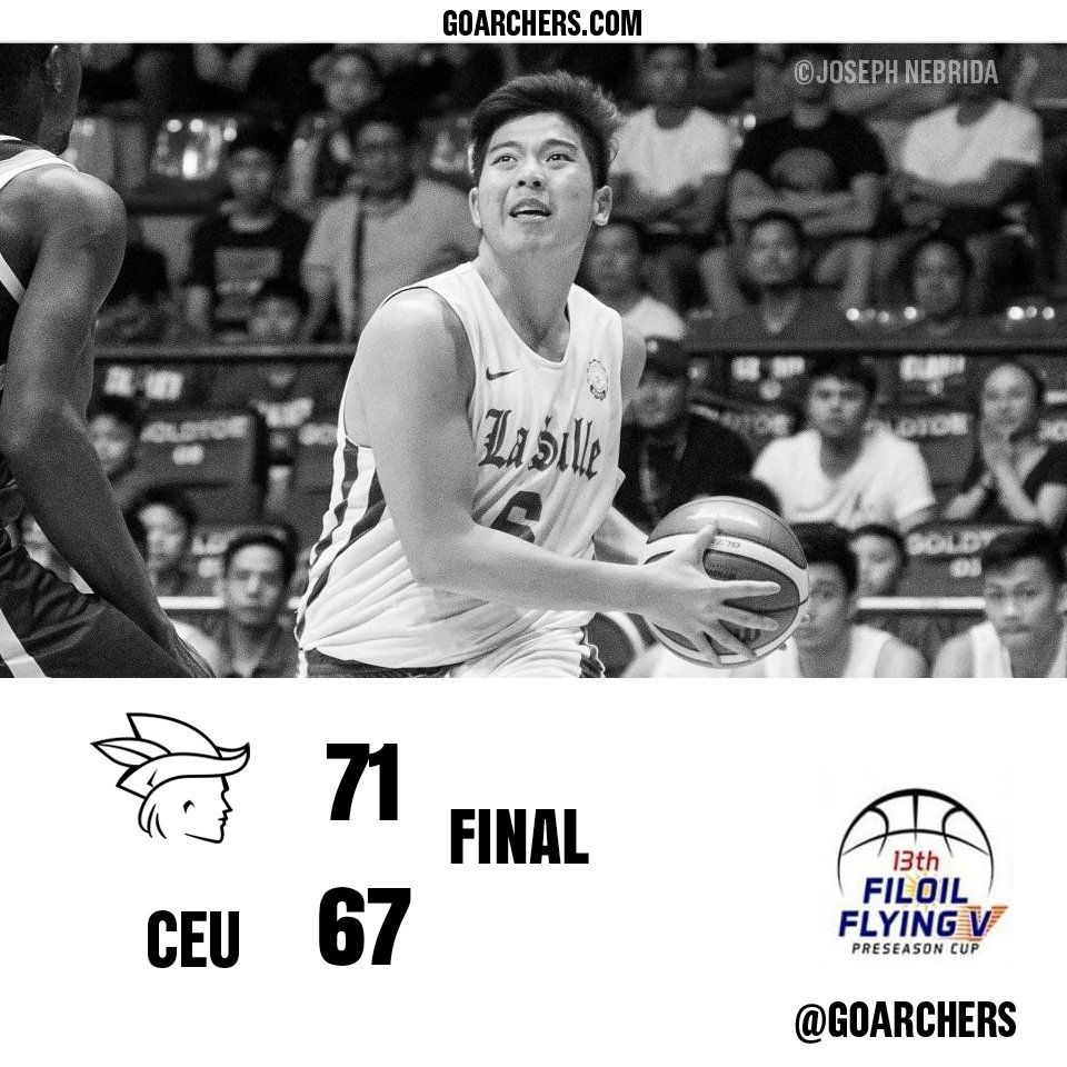 Green Archers move up to 3-1 Next Game: May 23 5PM vs Arellano #ArrowsUp 🏹