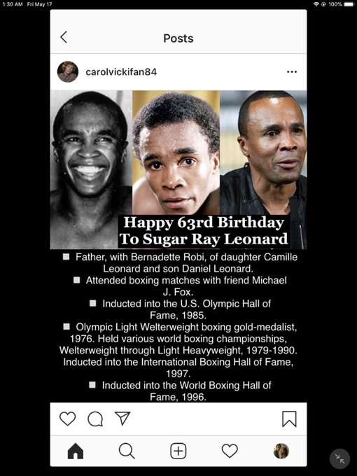 Happy Birthday! Sugar Ray Leonard, Bill Paxton, Dennis Hopper and Derek Hough!