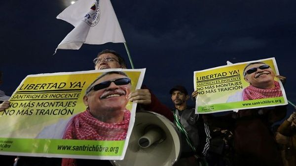 teleSUR TV's photo on Santrich