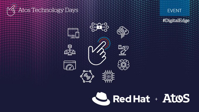 Atos welcomes @RedHat at Atos Technology Days to showcase #cloud deployment of Smart City...