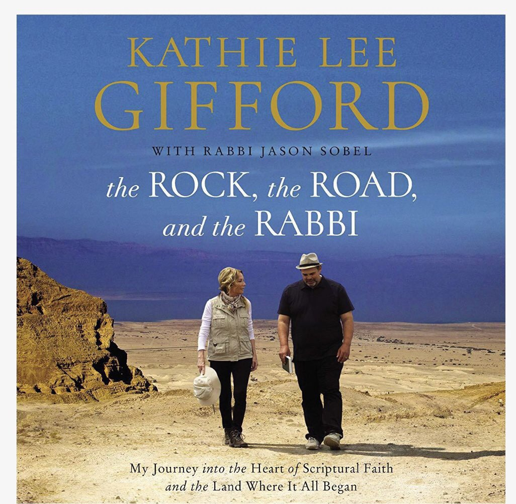 """As you begin your day, so goes your day"" - @KathieLGifford. #RockRoadRabbi is a life changing book. If you haven't read it, please do. If you have, read it again! There is always more with @RabbiJasonSobel"
