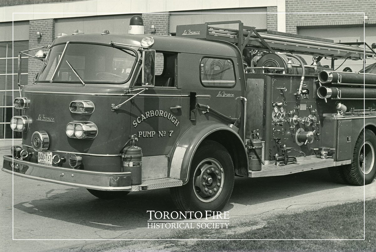 Toronto Fire Historical Society on Twitter: