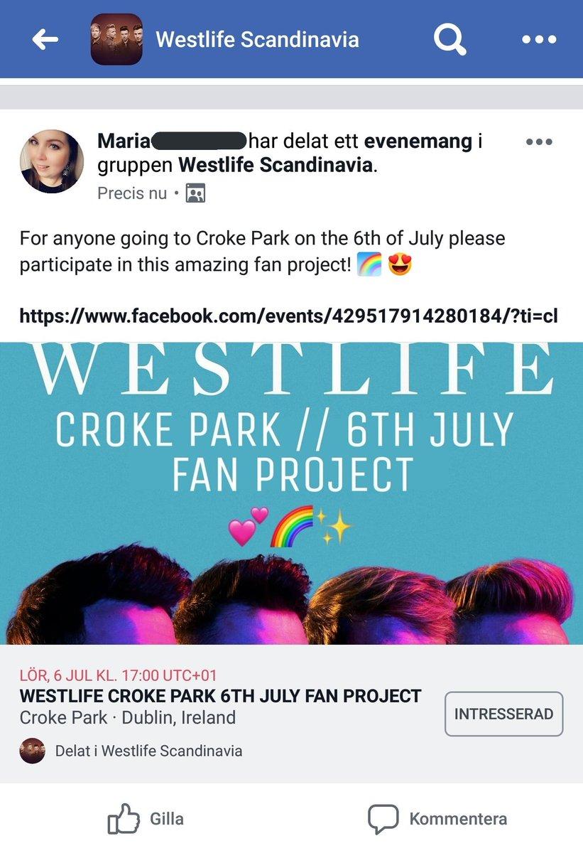 westlifecrokeparkrainbow hashtag on Twitter