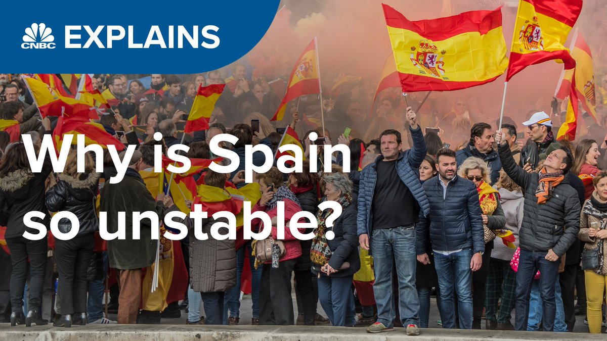 Image for the Tweet beginning: Spain is in a political