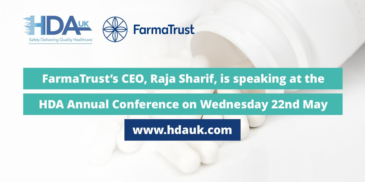 Tomorrow @rajasharif will be at the HDA Annual Conference opened by the #Health #Minister Stephen Hammond https://t.co/uprUzgDygd