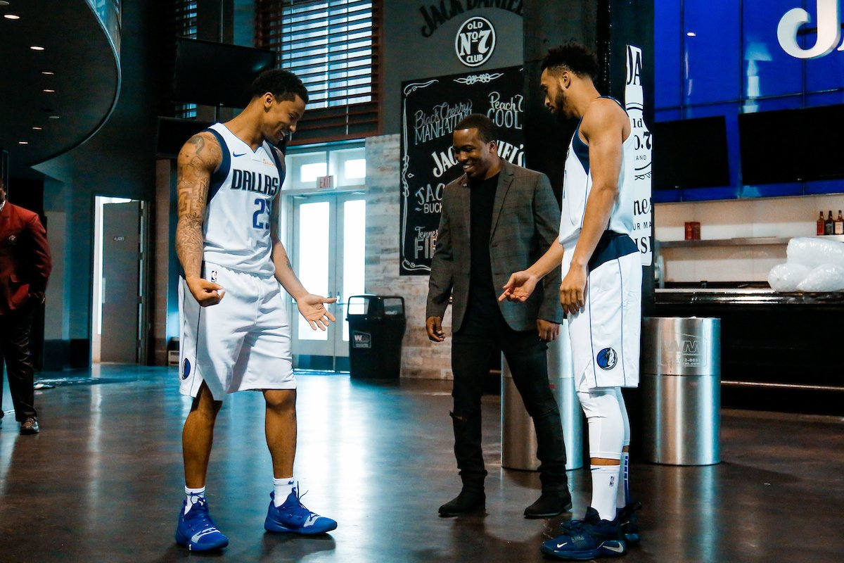 0913b5271ffc We re serving up TWO fellas for our Player Day today! Stay tuned to the  timeline as we recap  CourtneyLee5    TreyBurke s 2018-2019 with the Mavs!